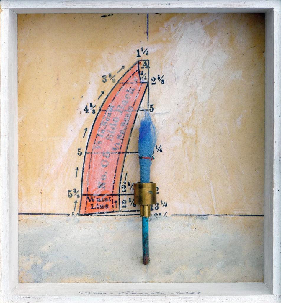 Pierre Courtois - Sans titre - Boîte, techniques mixtes - 15 x 14 x 5 cm - 2001