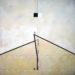 Pierre Courtois – Sans titre – Enduits muraux, pigments sur panneau - 203 x 186 cm - 2002