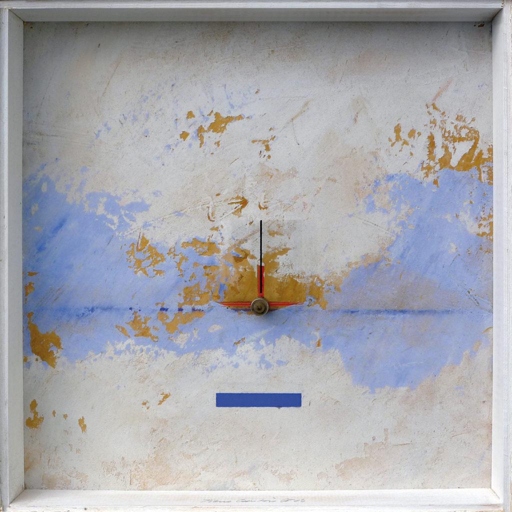 Pierre Courtois · Sans titre · Boîte, technique mixte, 30 x 30 x 4 cm · 1993