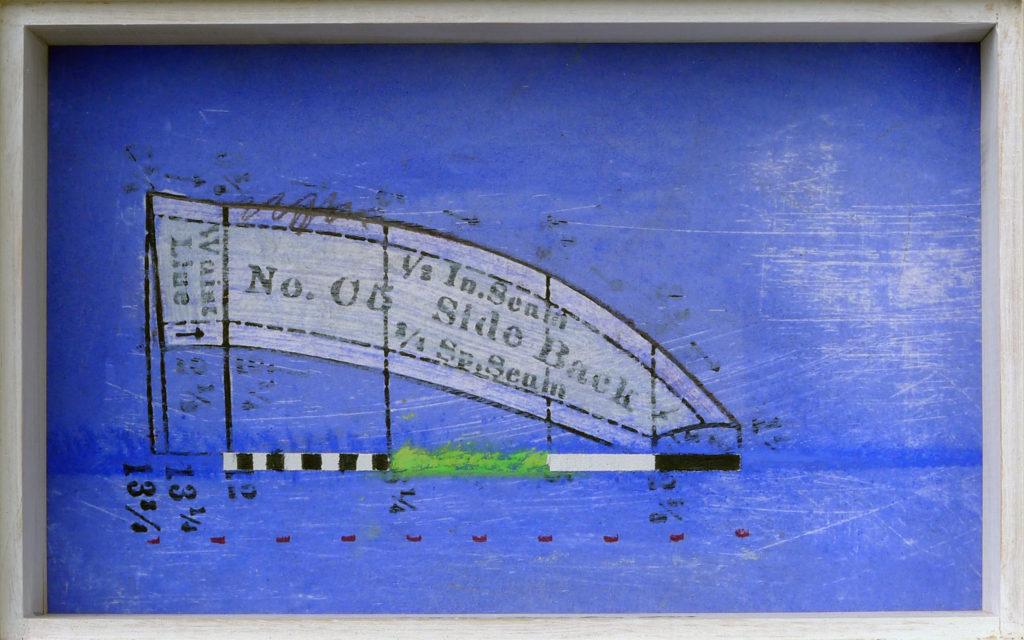 Pierre Courtois - Sans titre - Boîte techniques mixtes - 13 x 20 x 5 cm - 2004