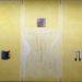 Pierre Courtois – Sans titre – Enduits muraux, pigments sur panneau et métal - 203 x 279 cm - 2012