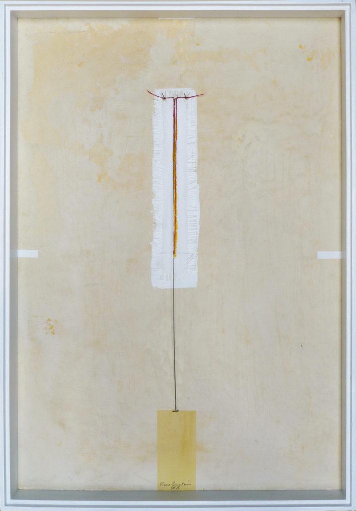 Pierre Courtois – Sans titre - Boîte, techniques mixtes – 64 x 45 x 4 cm - 2015