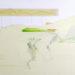 Pierre Courtois . Etude de paysage · technique mixte sur papier · 53 x 73 cm · 1971