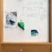 """Pierre Courtois · """"Nid de pierre"""" · Technique mixte · 61 x 31 cm · 1978"""