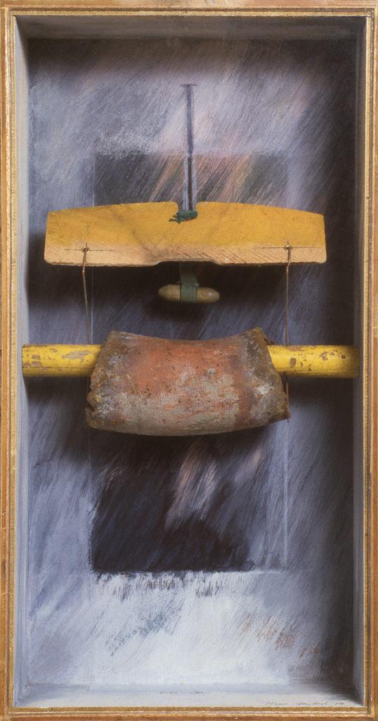 Pierre Courtois · Envol · Boîte, technique mixte, 60 x 30 x 11 · 1987
