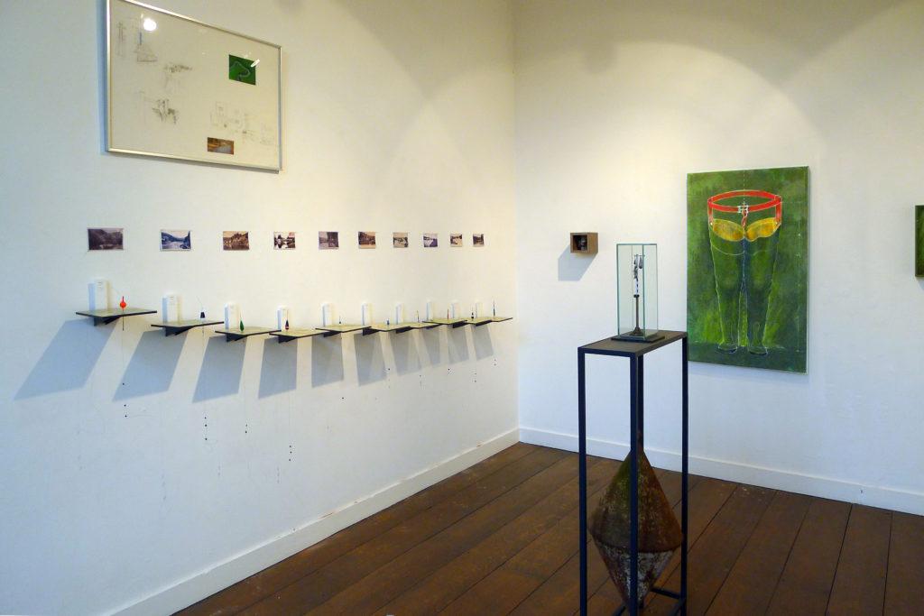 Pierre Courtois - De Nisramont à Liège - Installation, expo. CAP à Liège - Centre wallon d'art contemporain La Châtaigneraie - 2015