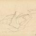 Pierre Courtois · Dessin de paysage, vallée de l'Ourthe · Encre sur papier, 29 x 21 · 1970