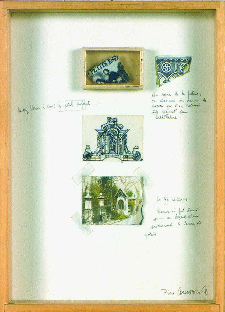 """Pierre Courtois · """"Laisser venir à moi"""" · Technique mixte · 31 x 23 cm · 1978"""