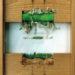 """Pierre Courtois · """"D'une herbe à l'autre"""", boîte technique mixte · 30 x 22 x 4 cm · 1983"""