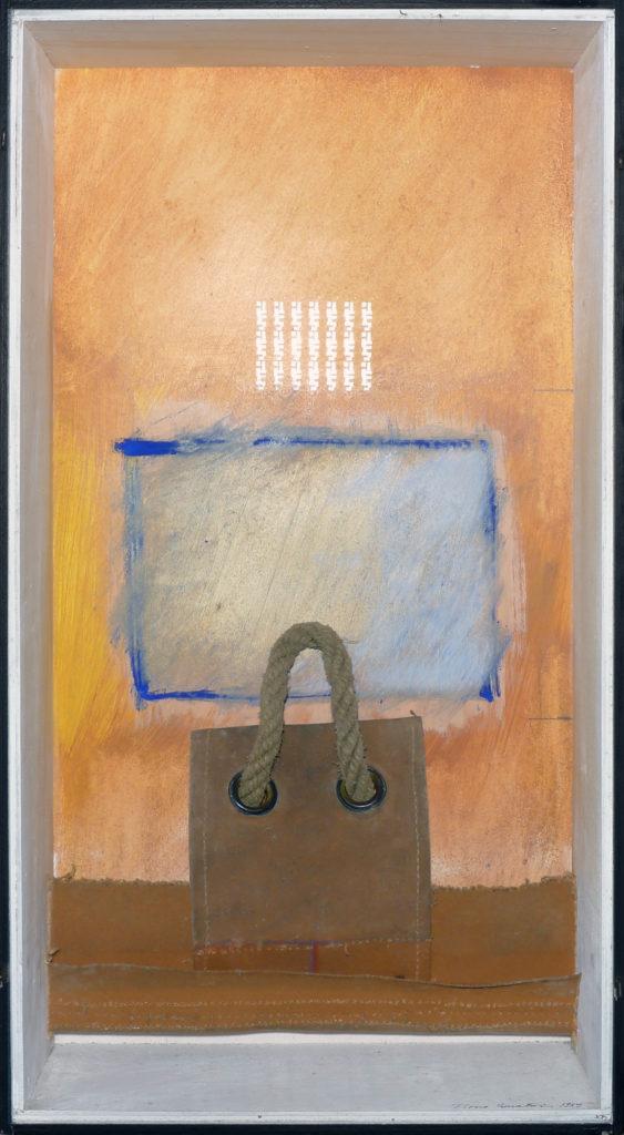 Pierre Courtois · Sans titre · Boîte, technique mixte, 60 x 30 x 11 · 1989