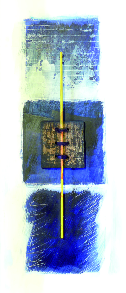 Pierre Courtois · Sans titre · Boîte, technique mixte, détail, 90 x 30 x 11 · 1991