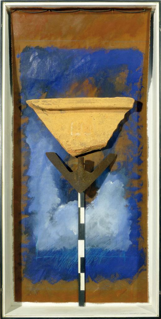 Pierre Courtois · Sans titre · Boîte, technique mixte, 90 x 45 x 11 · 1991