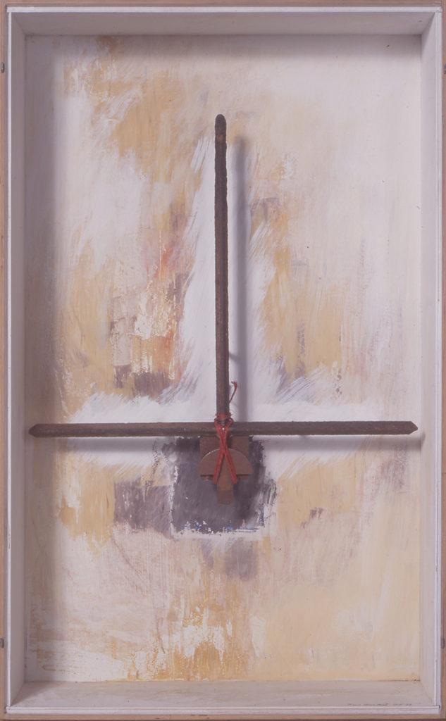Pierre Courtois · Sans titre · Boîte, technique mixte, 90 x 45 x 11 · 1992