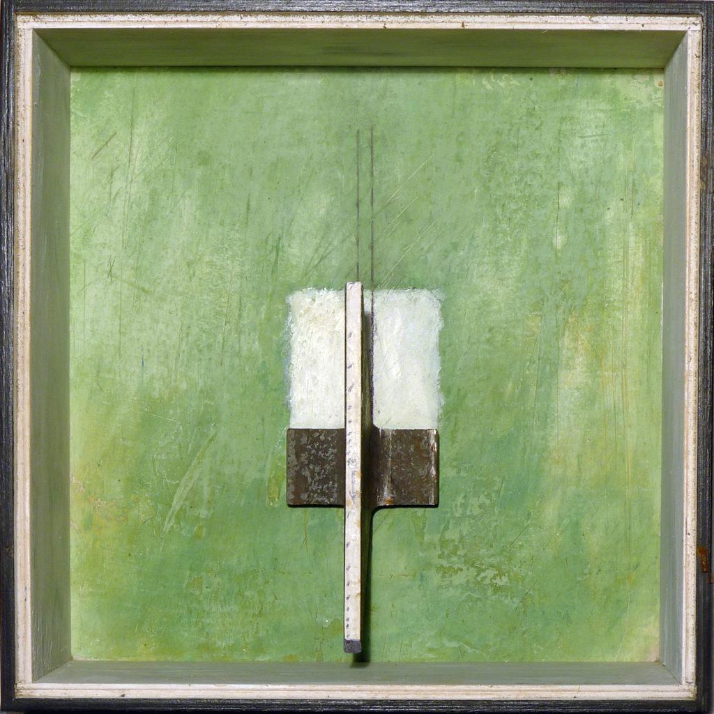 Pierre Courtois · Sans titre · Boîte, technique mixte, 30 x 30 x 10 · 1994