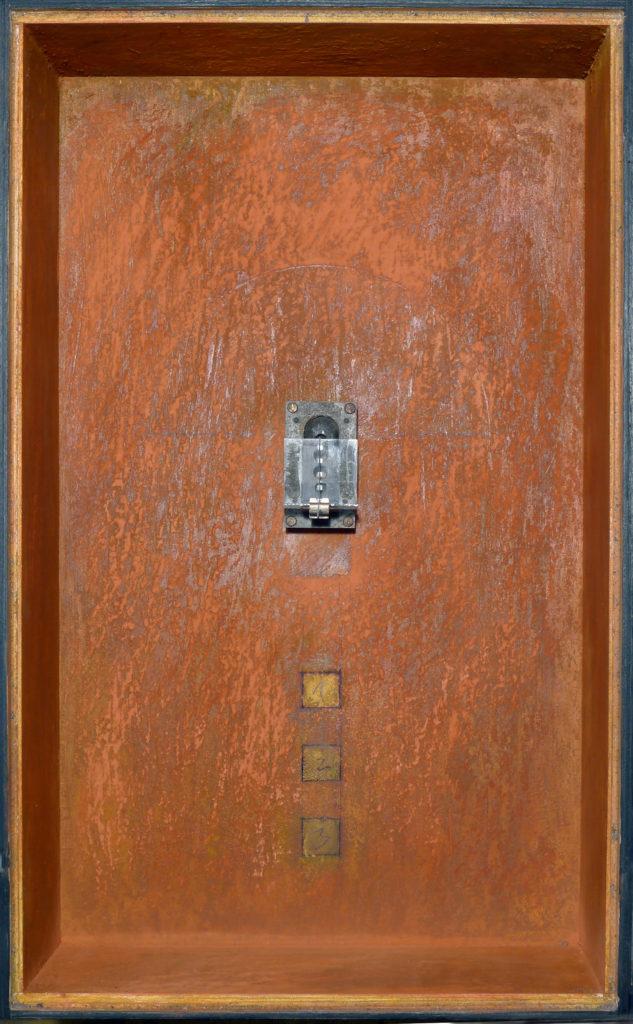 Pierre Courtois · Sans titre · Boîte, technique mixte, 48 x 30 x 11 · 1994