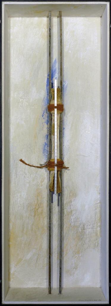 Pierre Courtois · Sans titre · Boîte, technique mixte, 90 x 30 x 10 · 1994