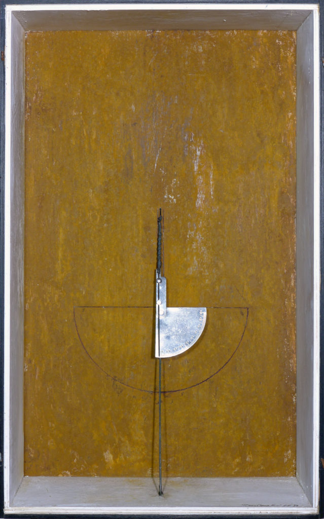 Pierre Courtois · Sans titre · Boîte, technique mixte, 60 x 37 x 13 · 1994