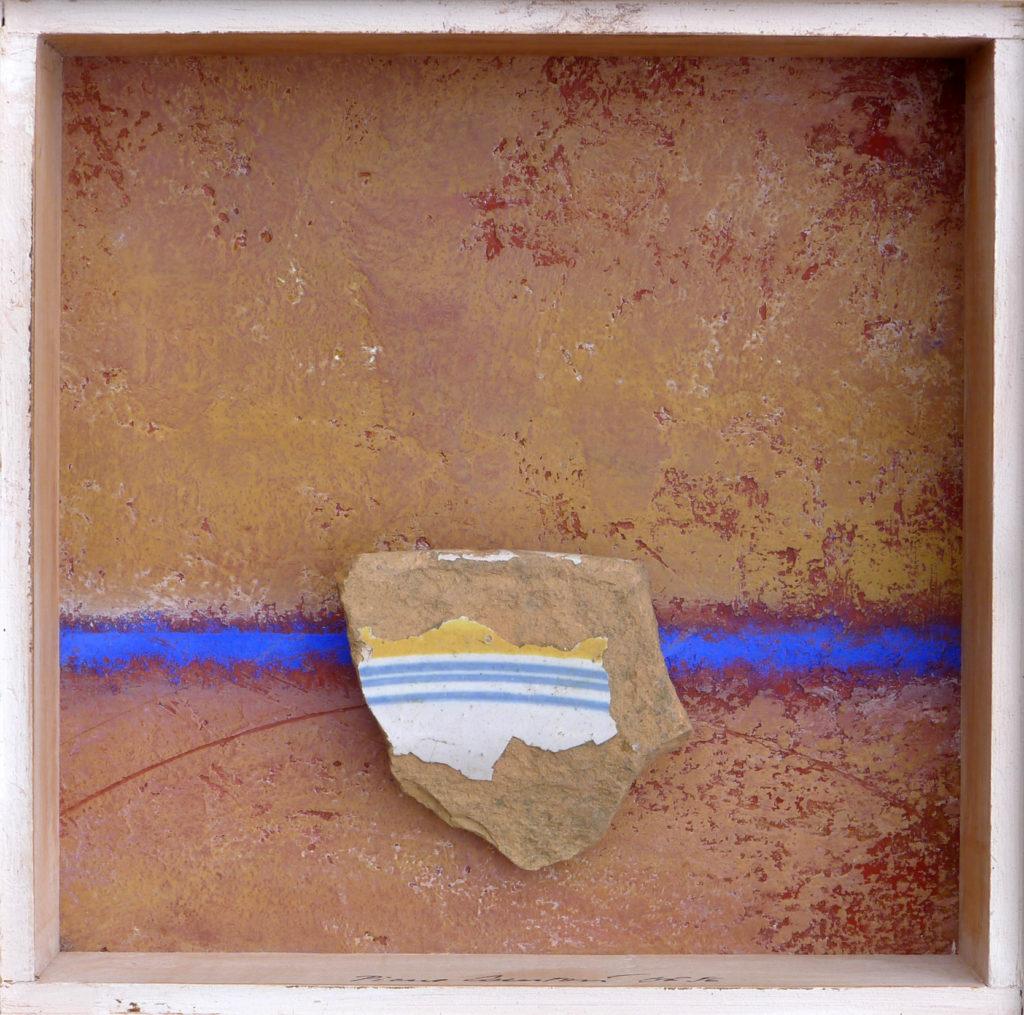 Pierre Courtois · Sans titre · Boîte, technique mixte, 15 x 15 x 4· 1996