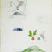 """Pierre Courtois · """"Environnement n°4"""" · Technique mixte · 80 x 60 cm · 1975"""