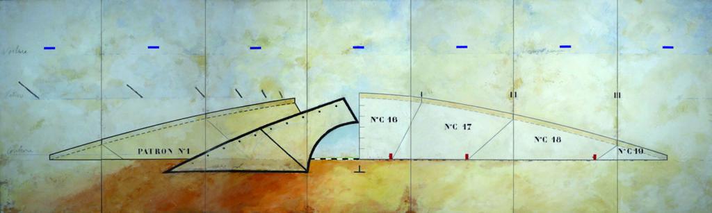 Pierre Courtois - Cote 163, Nature-couture – Installation, Maison de la Culture, Namur (B) ) - 2002