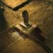 Pierre Courtois · Traces et Tracé, archéologie d'un lieu · Installation atelier, Sorinne-la-Longue (B) · 1989