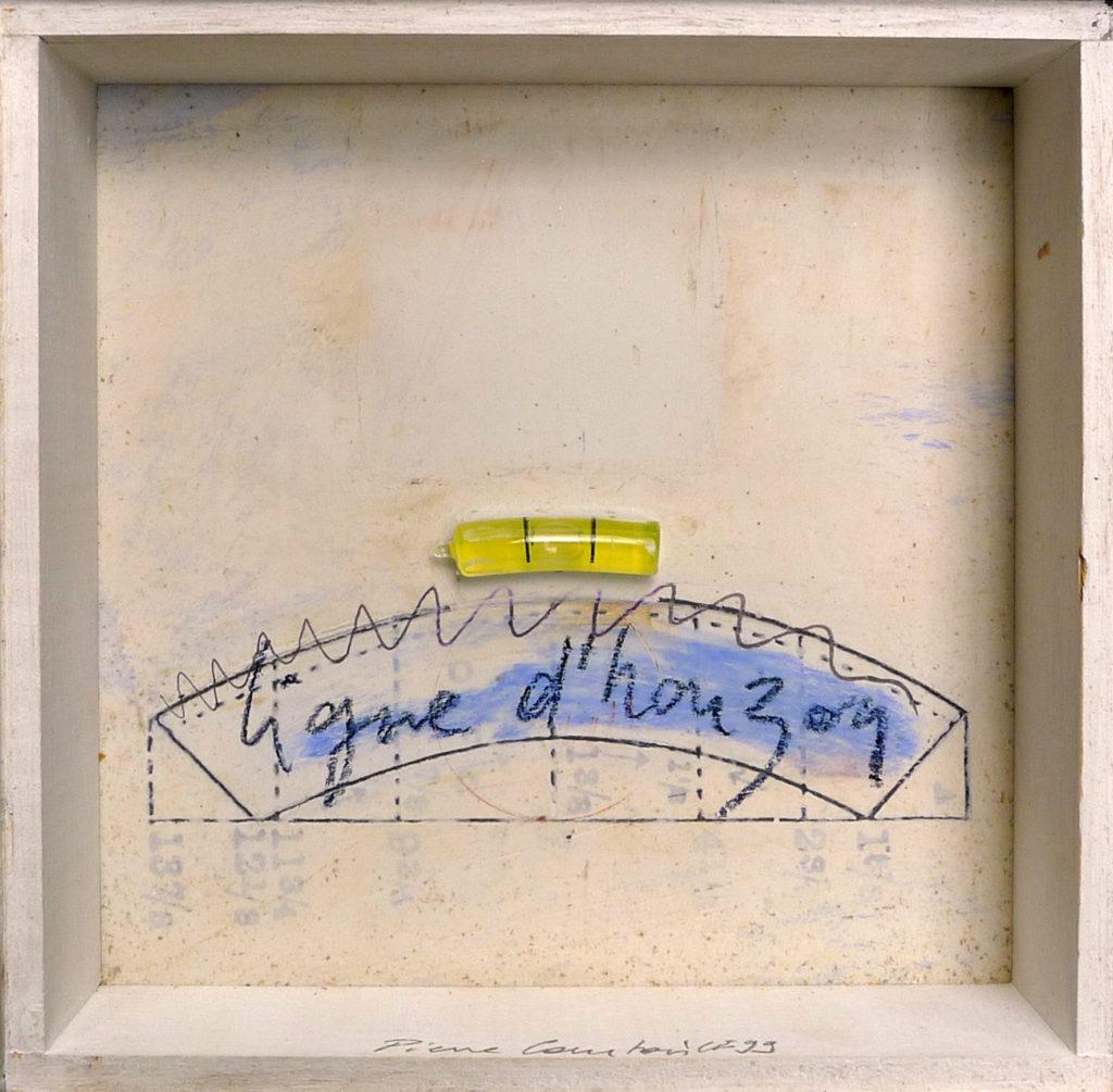 Pierre Courtois · Sans titre · Boîte, technique mixte, 15 x 15 x 4 cm · 1999