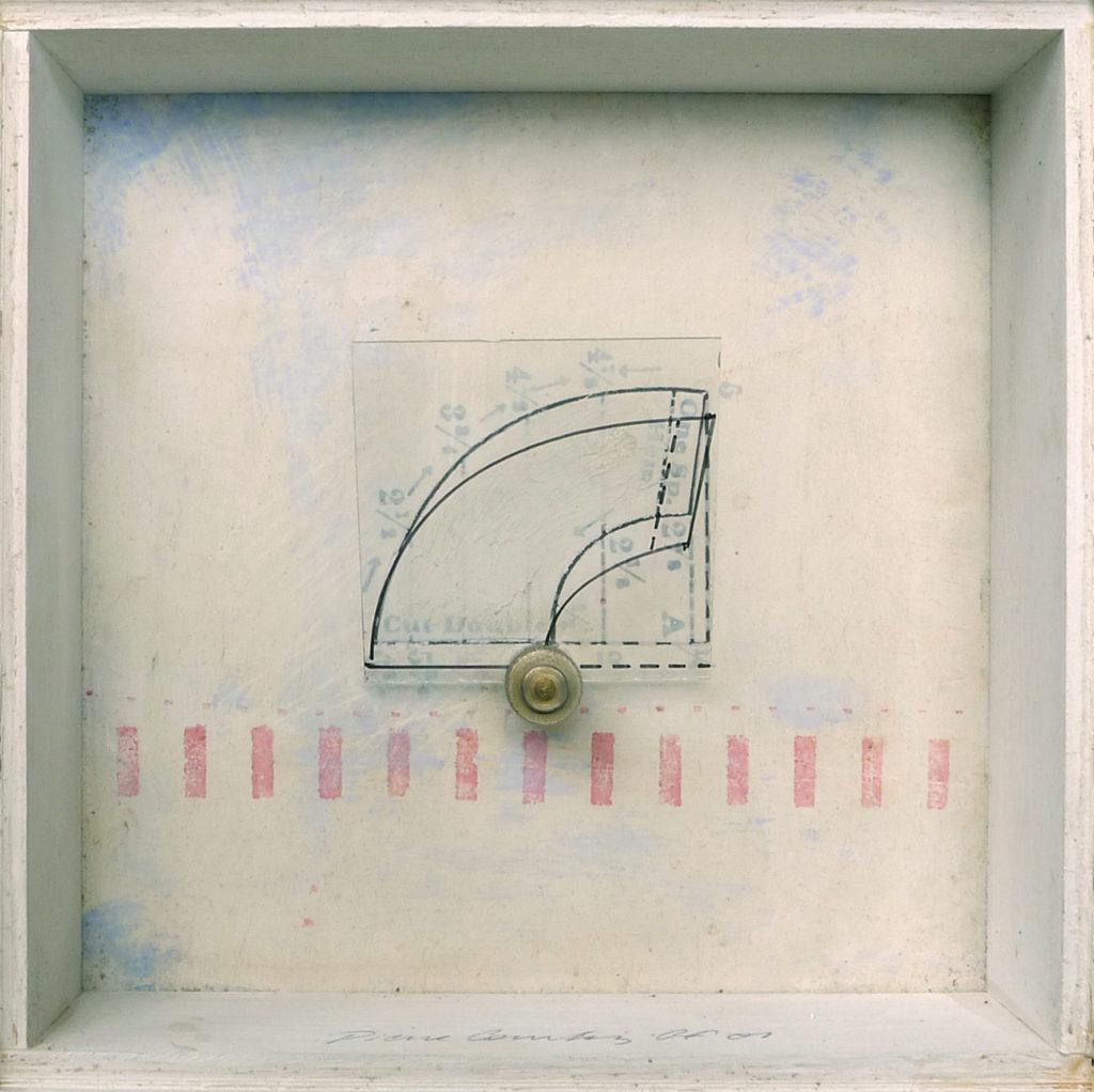 Pierre Courtois - Sans titre - Boîte, techniques mixtes - 15 x 15 x 5 cm - 2001