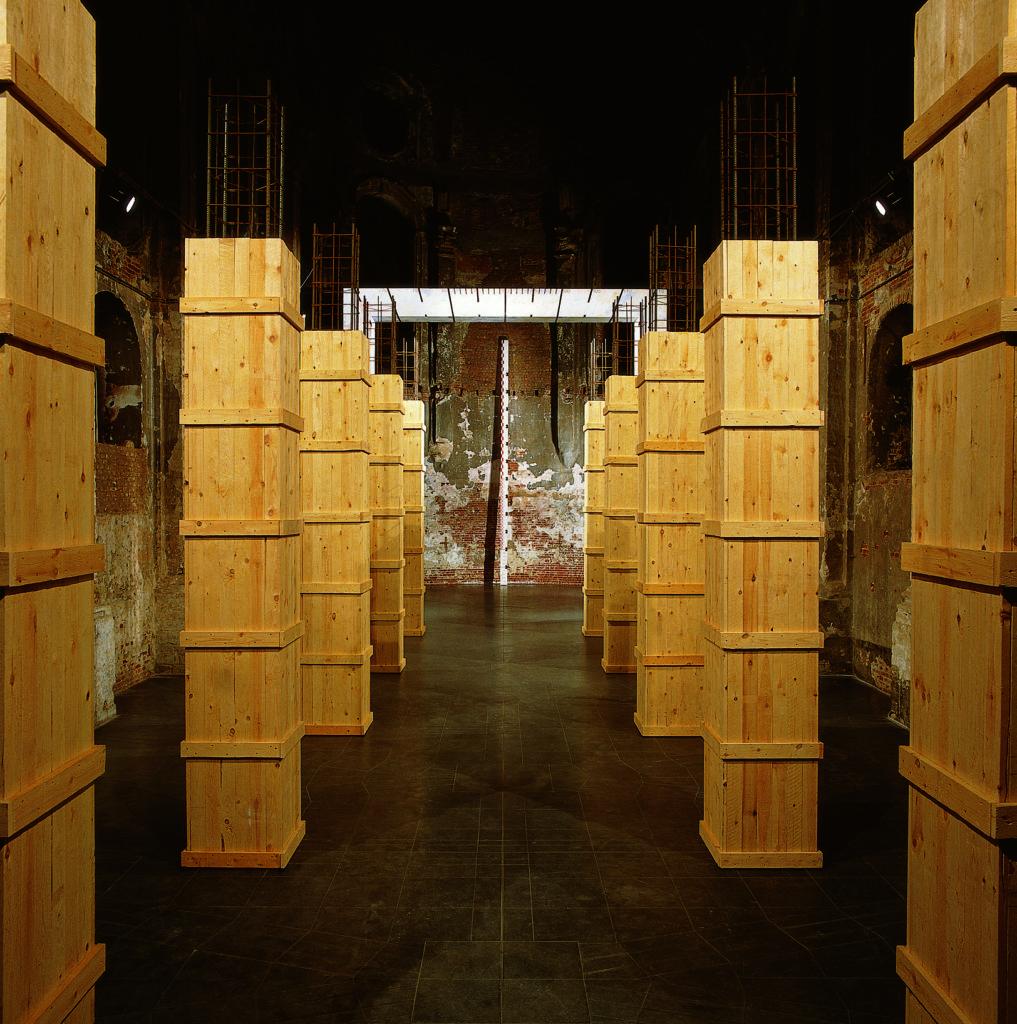 Pierre Courtois - L'Aller Vers - Intégration - Chapelle des Brigittines - Bruxelles - 1993