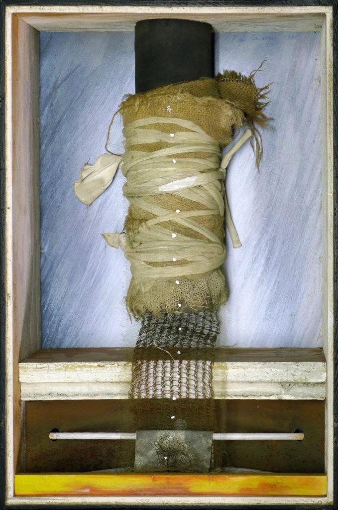 Pierre Courtois · Pénétration · Montage technique mixte, 45 x 30 x 11 cm · 1986