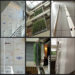Pierre Courtois. Mère Nature - Intégration couvrant les 3 niveaux de l'atrium du Centre de Cartographie, Topographie et Aménagement du territoire de la Rég. Wallonne. Salzinnes (BE) - 2008