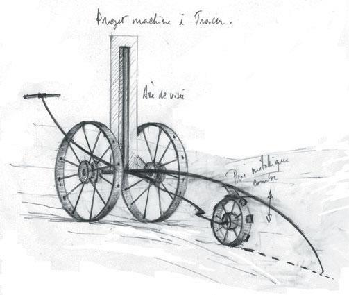 Pierre Courtois – Sans titre - Dessin, étude crayon sur papier - 21 x 29 cm - 2002