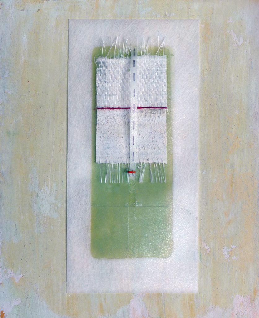 Pierre Courtois - Sans titre Réf. 192319O5 - Boîte technique mixte. 23 x 19 x 4 cm - 2019