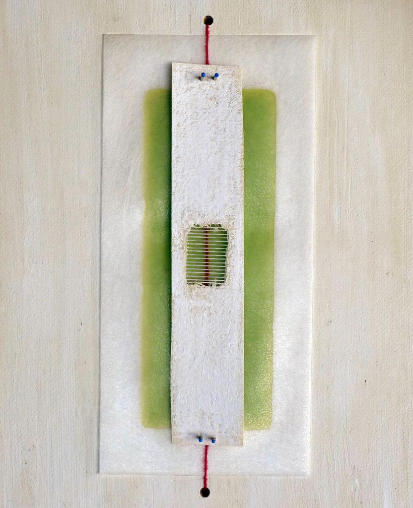 Pierre Courtois - Sans titre Réf. 192319O7 - Boîte technique mixte. 23 x 19 x 4 cm - 2019