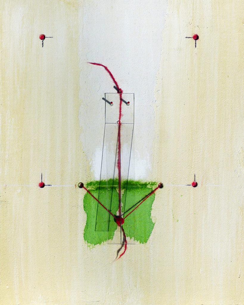 Pierre Courtois - Sans titre Réf. 19231915 - Boîte technique mixte. 23 x 19 x 4 cm - 2019